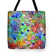 Flagrantly Floral Tote Bag
