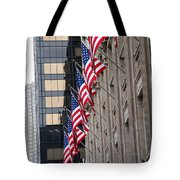 Flags In A Row Tote Bag