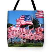 Flags Of Glory Tote Bag