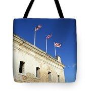 Flags Of San Christobal Tote Bag