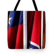 Flags Of The North And South Tote Bag