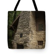 Flagstone Fireplace Tote Bag