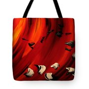 Flamboyant Tote Bag by Isabelle Vobmann
