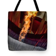 Flame On Two Tote Bag