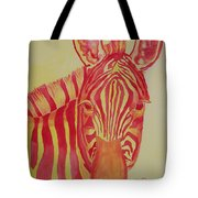 Flame Tote Bag by Rhonda Leonard