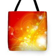 Flame Tote Bag by Sandra Hoefer