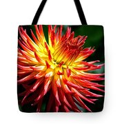Flame Tips Tote Bag