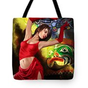 Flamenco Dancer 010 Tote Bag