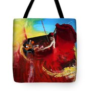 Flamenco Dancer 016 Tote Bag
