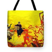 Flamenco Dancer 018 Tote Bag by Catf