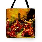Flamenco Dancer 020 Tote Bag