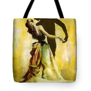 Flamenco Dancer 031 Tote Bag