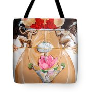 Flamenco Of Fertility  Tote Bag