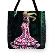 Flamenco Series No. 10 Tote Bag by Mary Machare