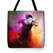 Flamencoscape 03 Tote Bag