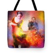 Flamencoscape 11 Tote Bag