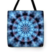 Flames Kaleidoscope 4 Tote Bag
