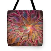 Flames Of Happiness Tote Bag