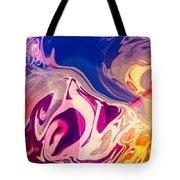 Flaming Colors Tote Bag