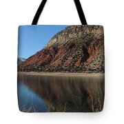 Flaming Gorge Winter Tote Bag