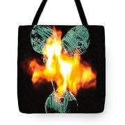 Flaming Personality Tote Bag