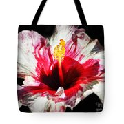 Flaming Petals Tote Bag