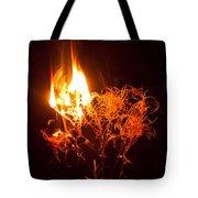 Flaming Seedheads Tote Bag