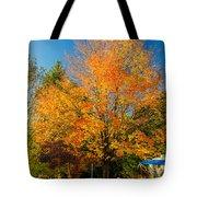 Flaming Tote Bag