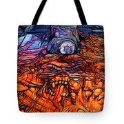 Flaming Vette 2 Tote Bag