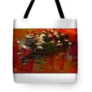 Flamingo Colours Tote Bag