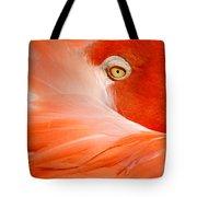 Flamingo Eye Tote Bag