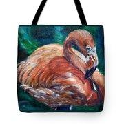 Flamingo Flare Tote Bag