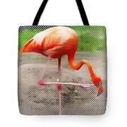 Flamingo Four Tote Bag