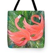 Flamingo Mask 1 Tote Bag