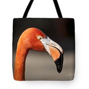 Flamingo Portrait Tote Bag