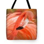 Flamingo - Spirit Of Balance Tote Bag