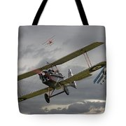 Flander's Skies Tote Bag by Pat Speirs