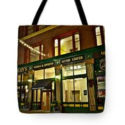 Flannerys Pub Tote Bag by Frozen in Time Fine Art Photography