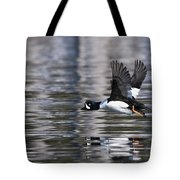 Flaps Up Tote Bag