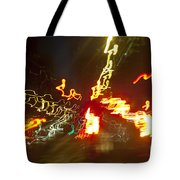 Flare Of Lights Tote Bag by Charmian Vistaunet