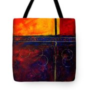 Flash Abstract Painting Tote Bag