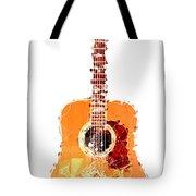 Flashy Guitar Tote Bag