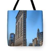 Flat Iron Building Tote Bag