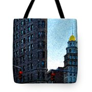 Flat Iron Nyc Tote Bag