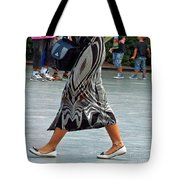 Flat Shoes And Leg Bracelet Tote Bag