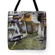 Flat Tire Tote Bag