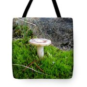 Flat Topped Mushroom Tote Bag