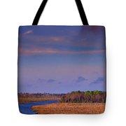 Flat Waterway Tote Bag