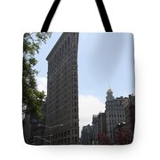 Flatiron Building - Manhattan Tote Bag