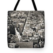 Flatiron Building - New York City Tote Bag